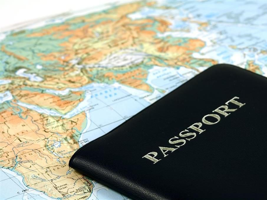 passport and route